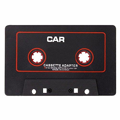 C-FUNN Cassette Coche Estéreo Adaptador De Cinta para iPod iPhone Mp3 Aux CD Player 3.5 Mm Jack