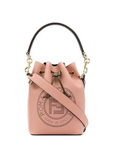 Luxury Fashion | Fendi Dames 8BT309A7SQF19T7 Roze Leer Handtassen | Lente-zomer 20