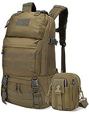 Mardingtop 40L/60L ミリタリー リュック 大容量 タクティカル バックパック 軽量 鞄 MOLLE 対応 軍用 リュックサック 登山 キャンプ トレッキング 旅行