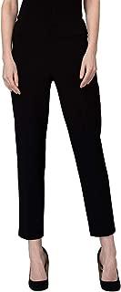 Black Elastic Waist Classic Pant - Style 181089