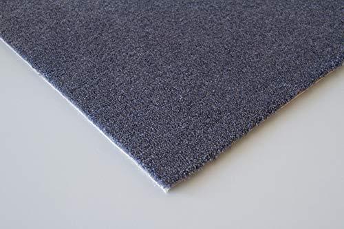 Steffensmeier Teppichboden Genua Meterware | Auslegware für Kinderzimmer Wohnzimmer Schlafzimmer | Anthrazit, Größe: 400x400 cm