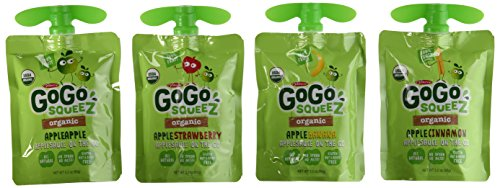 Go Go Squeeze Organic Baby Food