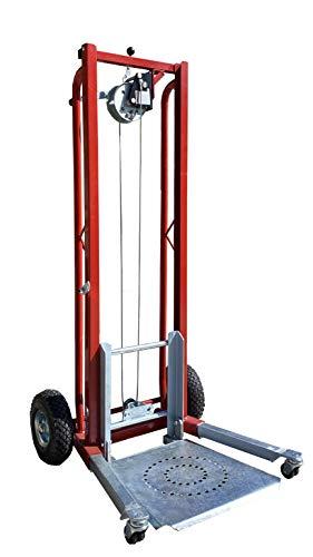 Carro con plataforma elevable, capacidad de carga: 100 kg