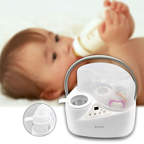 iBellete 4-in-1 Baby Flaschen wärmer Food Warmers, Sterilizer Food Heater Smart Thermostat ,Dampf-Sterilisator Schnell Milchwärmer gleichmäßig, Easy Safe Gentle up . - 5