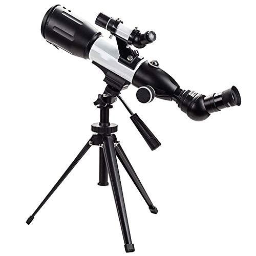 Telescopio, telescopio astronómico CF35050 visualización telescopio de Doble Uso telescopio Espejo Objetivo de visualización Principiantes y niños
