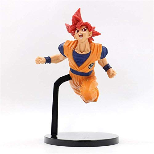 Dragon Ball Funko Pokemon Pop Dragon Ball Funko Pop Friends Muñecos Cabezones Dragon Ball Z God Goku PVC Figuras De Acción Toy Red Hair 170mm Dragon Ball Super Figurine Gift