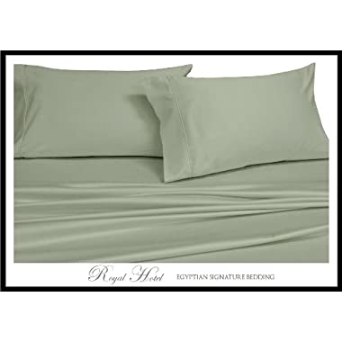 Queen Sage Silky Soft sheets 100% Viscose from Bamboo Sheet Set