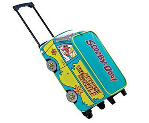 scooby doo Mystery Machine Van Large Wheeled Bag Trolley Luggage Cabin Suitcase