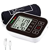 Blood Pressure Monitor for Upper Arm, M.Jone Automatic Digital BP Machine for 2
