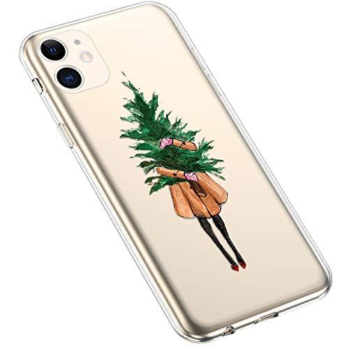 Uposao - Zapatillas de críquet para mujer Frauen Weihnachtsbaum iPhone 11 ⭐