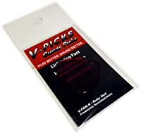 V-PICKS Ruby-Red Series Freakishly/Rounded 3mm V-FRR-R