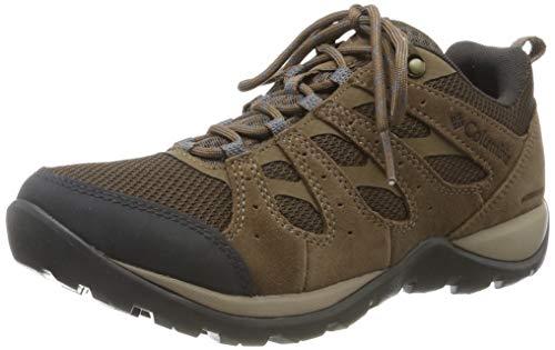 Columbia Redmond V2, Zapatillas de Senderismo Impermeables Mujer, Marrón (Espresso MHW, Deep Ocean), 40 EU