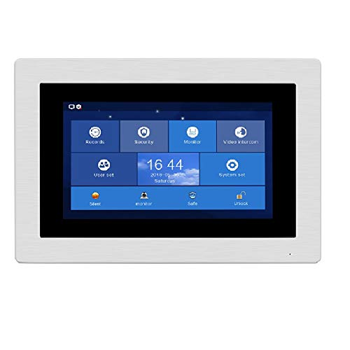 VEHISEURE 720P HD SIP WiFi 7' Touch Screen Monitor for SIP Apartment System
