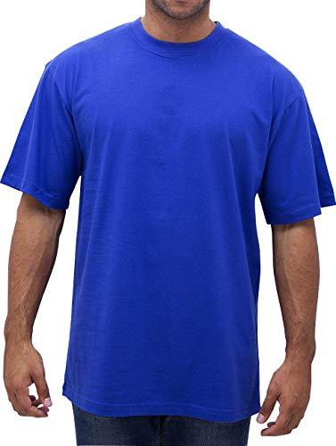 Oferta de Urban Classics Basic Crew Neck Tall Tee, Camiseta, para Hombre, royal, XXL