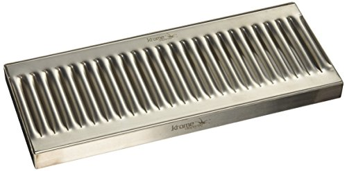 Krome Dispense C606 Stainless Steel Drip Tray Surface, No Drain, 12' x 5', 1.2 mm Solid Construction
