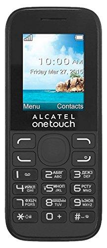 mächtig Alcatel – OT-1052g Mobiltelefon One Touch 1052 – Schwarz – Bluetooth, VGA-Kamera für Fotos und Videos,…