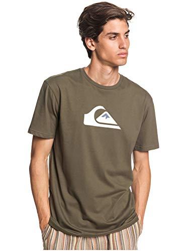 Quiksilver™ Comp Logo Tshirt Tshirt Männer M Grün