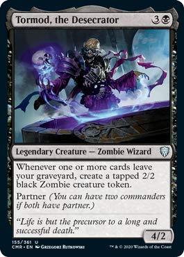 Magic: The Gathering - Tormod, The Desecrator - Commander Legends