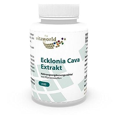 Vita World Ecklonia Cava Extract 120 Vegetarian Capsules Made in Germany
