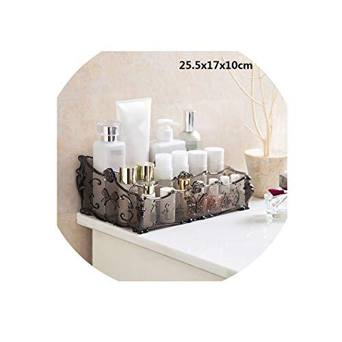 Carl Hamilton Make-up-Aufbewahrungsbox aus transparentem Acryl, für Nagellack, Kosmetik,...
