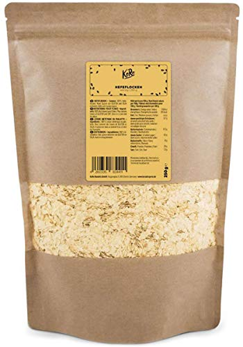KoRo - Hefeflocken 250 g - Vegane und nährstoffreiche Nährhefeflocken aus Melasse und Gewürz mit Käse Geschmack - Käseersatz