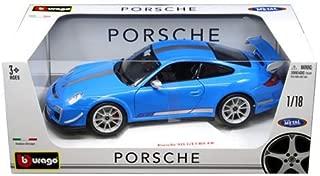 Bburago 1: 18 Porsche 911 GT3 Rs 4.0 Toy, Blue 18-11036BL