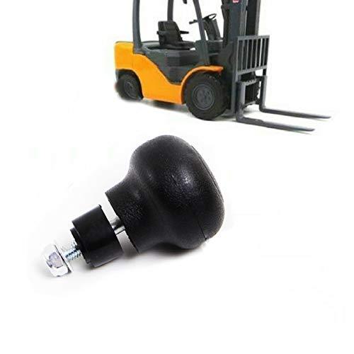 TEQIN 1 pomo giratorio para volante de plástico ABS de ingeniería, tornillo de 8 mm, bola de ayuda de torneado para tractor de montacargas