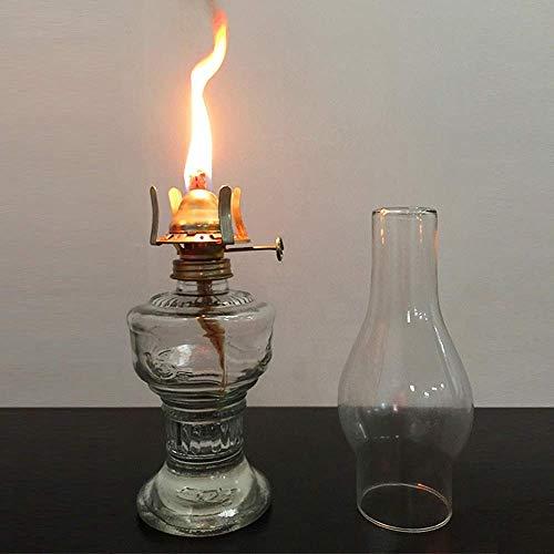 Lámparas de Aceite Lámpara de keroseno Pantalla de caballo Lámpara de caballo de estilo antiguo Linterna de keroseno Retro Luz de camping Decoración para el hogar Tienda Ventana Accesorios de fotograf