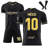 20-21 Barcelona Lionel Messi - Camiseta de fútbol deportiva para niños y adultos, talla L