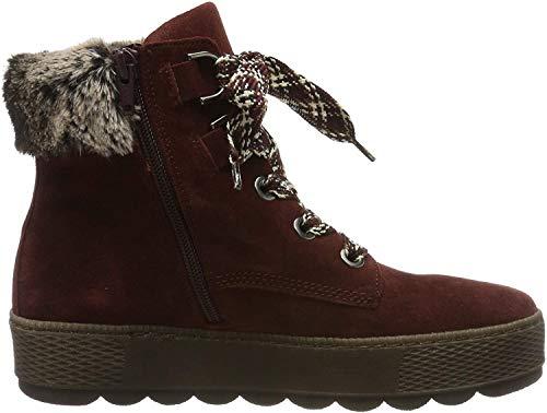 Gabor Shoes Damen Comfort Basic Stiefeletten, Rot (Dark-Red (Mel.) 38), 41 EU