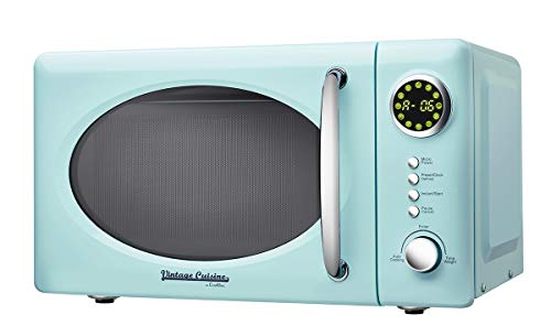 700W 18,5L Four à Micro-Ondes Vintage Cuisine by CooKing (Mint)
