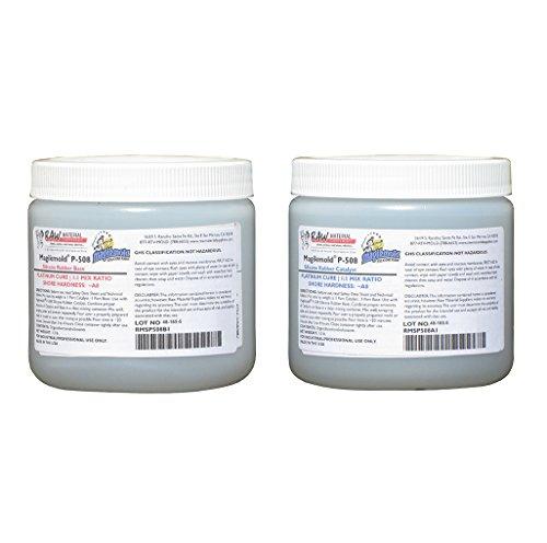 Magikmold P-508 Platinum Cure Silicone Rubber Kit 2 lb
