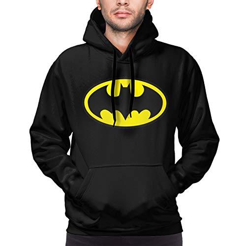 Batman Hoodies Printed Batman Logo Black