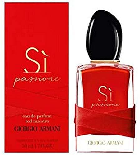 GIORGIO ARMANI SI PASSIONE RED MAESTRO EAU DE PARFUM 50 ML. VAPORISATEUR SPRAY