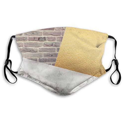 Modern wit marmer goud folie zwart masker lucht stof gezicht mond masker vervangbaar filter masker mond stofmaskers half masker