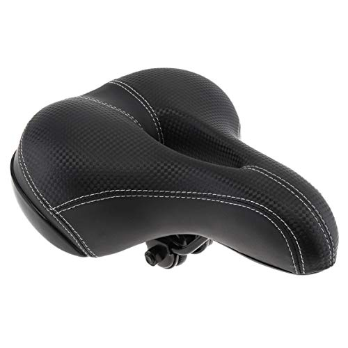 Sillines de bicicleta para bicicleta al aire libre de ciclismo ancho asiento de bicicleta espesar asiento de bicicleta, esponja suave silla de montar ciclismo MTB cojín