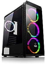GAMETECH ZEUS 4x120mm KUMANDALI RGB Fan FULL Temper Camlı Gaming Oyuncu Kasası