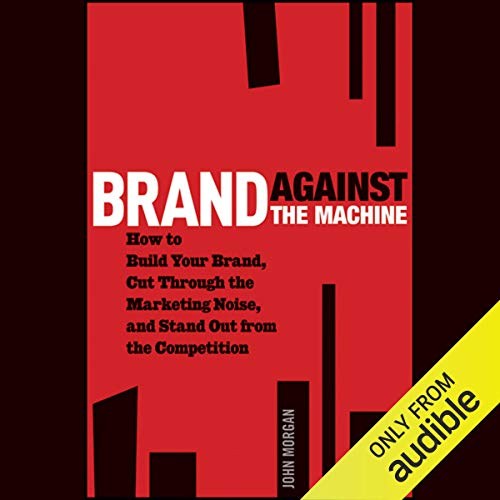 Brand Against the Machine audiobook cover art