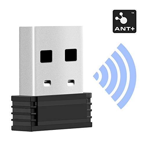 CooSpo Adaptador de USB Zwift Ant+ Dongle Receptor USB 2.0 para Garmin Forerunner 310XT,910XT,60,405,405CX,410,610