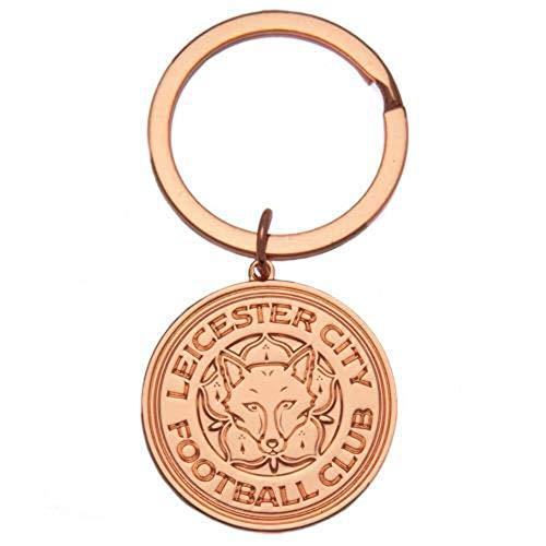 Leicester City F.C. Leicester City F. C. Portachiavi Placcato Oro Rosa