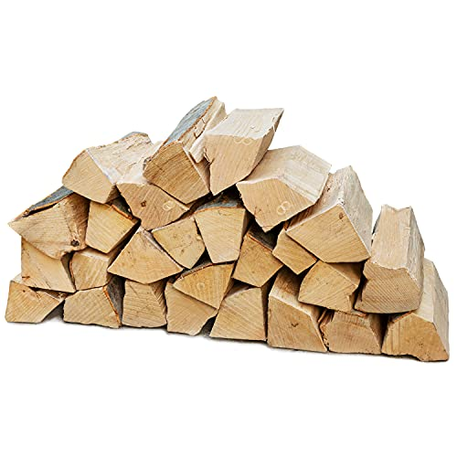 Legna da Ardere Selezione 5-90 kg Per Stufa e Camino Braciere Griglia Cestello per il Fuoco Ceppi 25 cm Flameup, Numero:30 kg