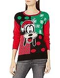 Disney Women's Ugly Christmas Sweater, Goofy/Black, Small from Disney