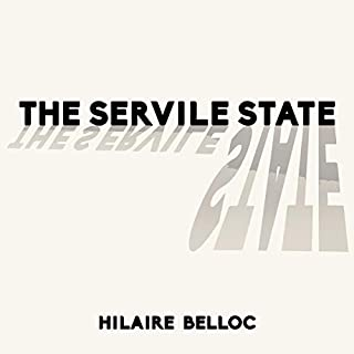 The Servile State audiobook cover art