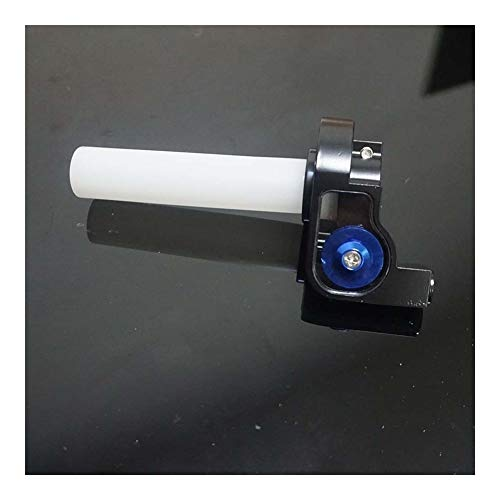SSGLOVELIN Dirt Pit Bike Ersatzteile aus Aluminium Gas Griffe Schnell Gas Fit for BSE Kayo Xmotos 110 125 140 150 160 250 CCM (Color : Blue)