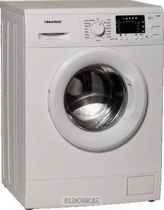 Lavadora Slim de 45 cm, carga frontal, 6 kg, clase A+++, centrifugado de 1400 rpm.
