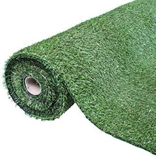 The Rug House Park Roll 1m x 1m 4mm Pile Height Carpet Artificial Grass Astro Garden Lawn High...