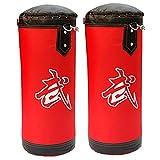 ZWJ Bolsa de perforación de Reflejo, Bolsa de perforación de Boxeo Bolsa de perforación Colgando sandbag Oxford paño Rojo 80-120 cm (Color : Red, Size : 120cm)