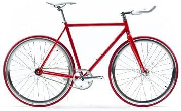 State Bicycle Co Fixed Gear Fixie Single Speed Bike, Samurai 2.0, 55cm