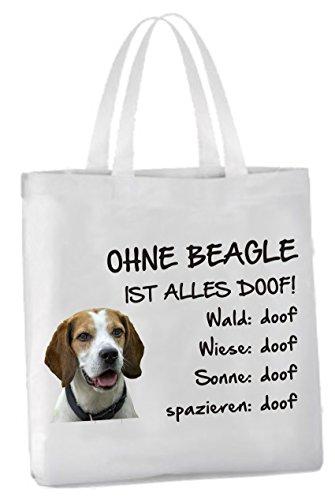 AdriLeo Einkaufstasche Ohne Beagle ist Alles doof!