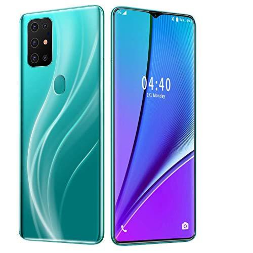 S21 SIM-freie und entsperrte Smartphones, schöne Android GO 4G-Handys mit 6,7-Zoll-HD-IPS-Display, 4800-mAh-Akku, Dual-SIM-Dual-Kameras, langlebige Handys … (Green)